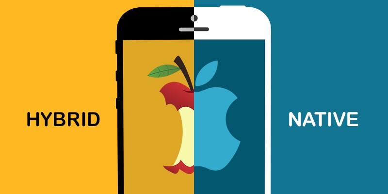 تفاوت اپلیکیشن های نیتیو و هایبرید