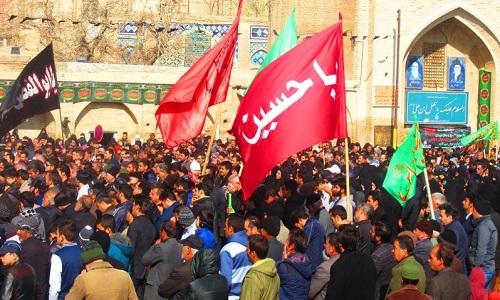 پیاده روی اربعین ساوه استان مرکزی