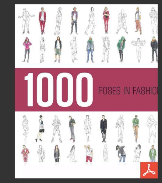 کتاب ۱۰۰۰ ژست فشن: ژست های عکاسی خانم ها و آقایان
