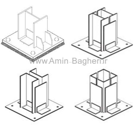 انواع روش ساخت ستون فلزی