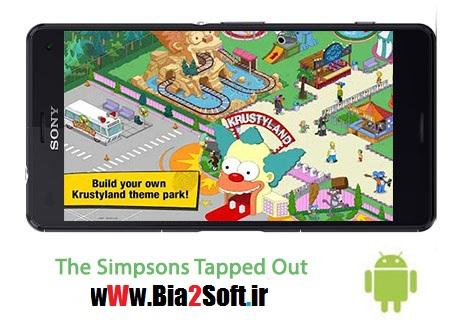 دانلود بازی خانواده سیمپسون ها The Simpsons Tapped Out 4.31.0 – اندروید