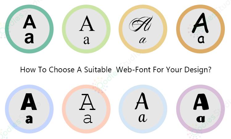 راهنمای انتخاب فونت در طراحی وبسایت