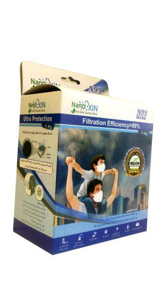 بسته بندی ماسک نانوکسین پزشکی