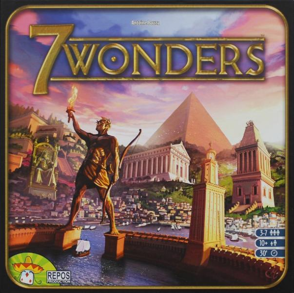 بازی رومیزی 7 wonders