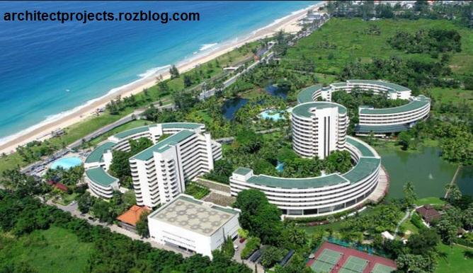 بررسی معماری هتل هیلتون بانکوک,هتل هیلتون بانکوک,تحقیق آماده معماری