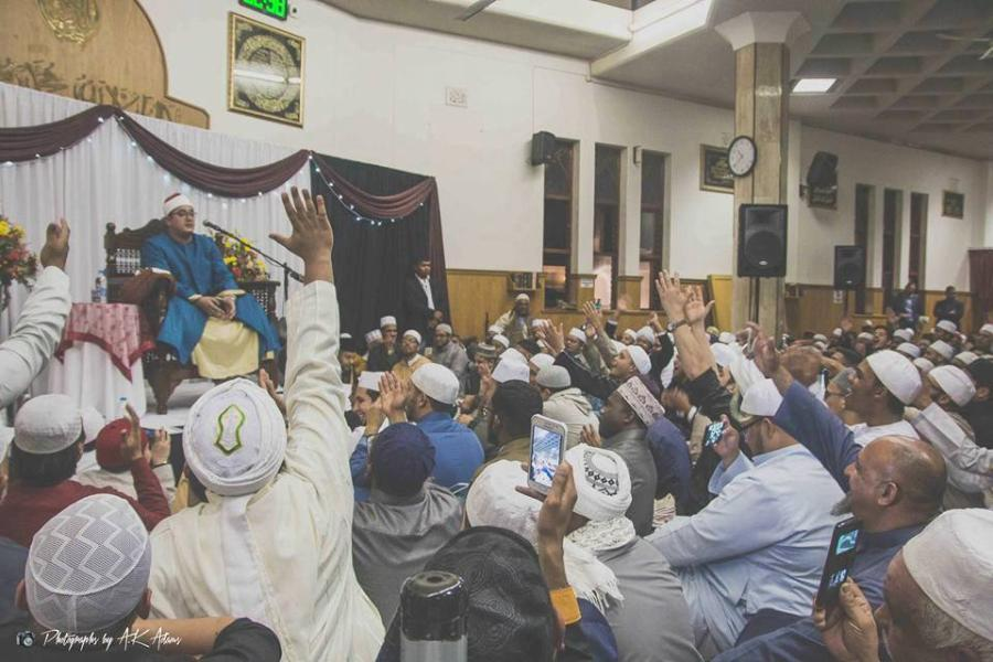 تلاوت استاد محمود شحات(حشرو قصارالسور)/کیپ تاون2016