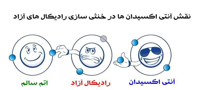آنتی اکسیدان و رادیکال آزاد