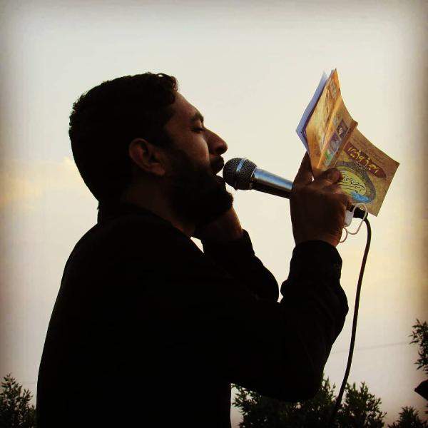 مهران بارانی مداح بروات شهرستان بم شهربروات مراسم زنجیرزنی اربعین حسینی علیه السلام مراسم زنجیرزنی