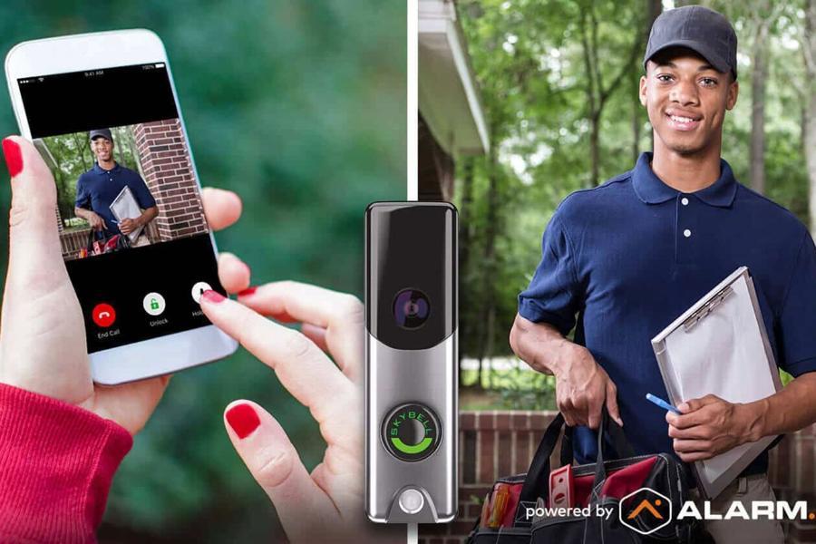doorbell4 ساخت زنگ درب مخصوص روزهای کرونایی