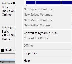 Hardisk 04 تبدیل هارد Dynamic به Basic بدون از دست رفتن اطلاعات