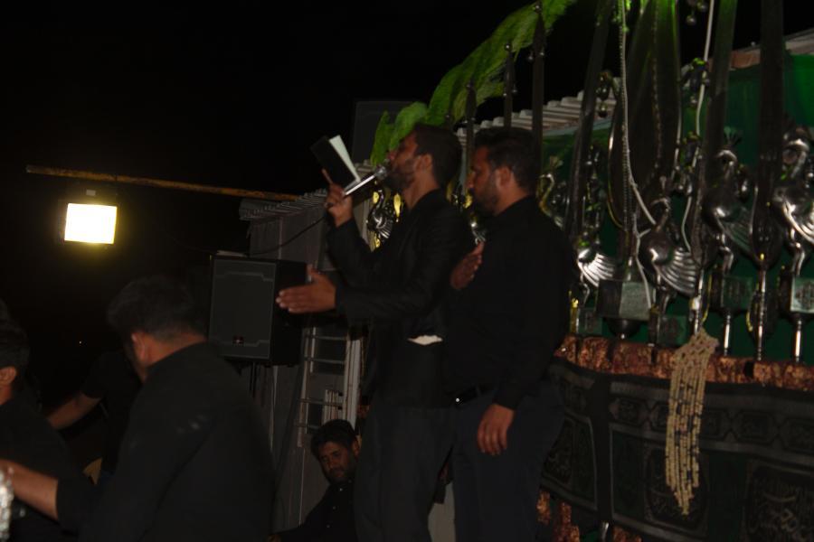 مهران بارانی مداح بروات شهرستان بم شهربروات مراسم