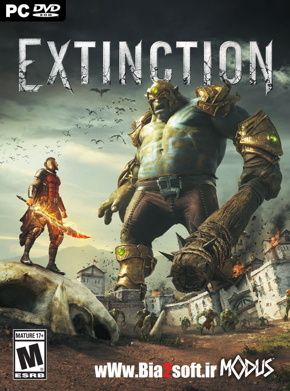 دانلود بازی Extinction برای کامپیوتر به همراه کرک SKIDROW