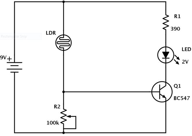 سنسور LDR - مقاومت تابع نور