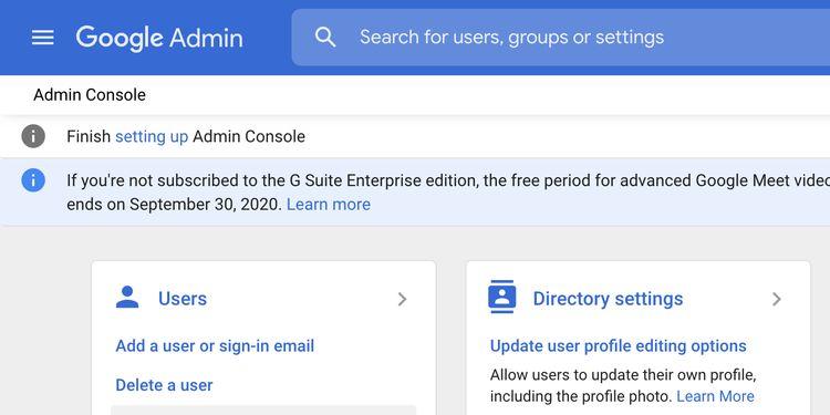 view workspace users نحوه بازیابی ایمیل های حذف شده از جیمیل