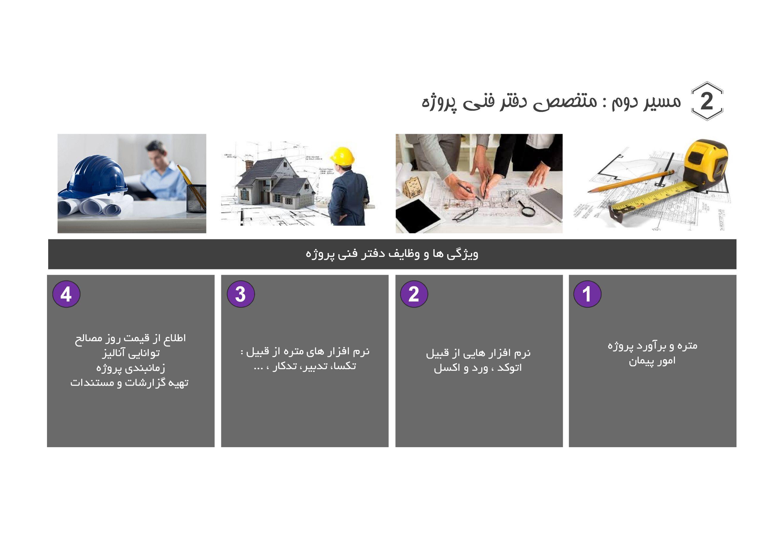 ویژگی های دفتر فنی پروژه های عمرانی - کسب و کار در مهندسی عمران