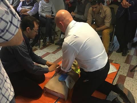 First Aid workshop 2015