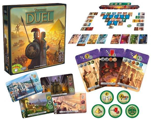 ملحقات بازی 7 wonders duel