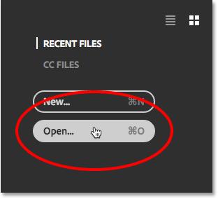 آموزش باز کردن عکس در فتوشاپ cc