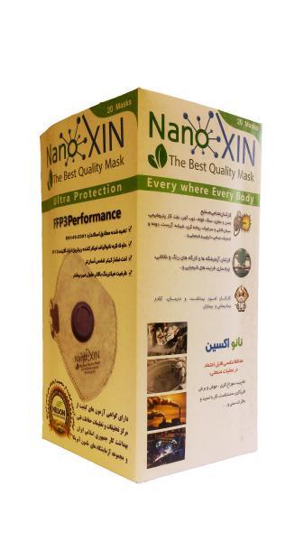 بسته بندی ماسک نانوکسین FFP3
