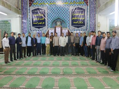 ارایه گزارش عملکرد شهرداری و شورای اسلامی شهر امیدیه در نماز جمعه به شهروندان محترم