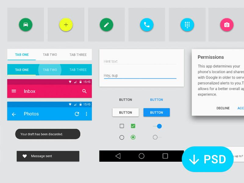 UI Kit برای اندروید