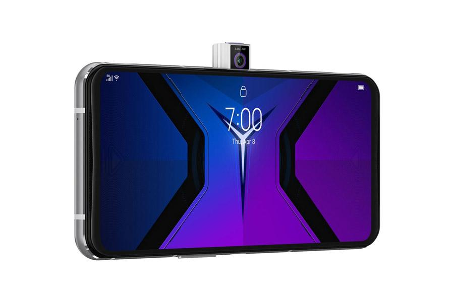 lenovo legion phone duel 2 side popup camera گوشی گیمینگ Legion Duel 2 لنوو رونمایی شد؛ شارژ ۹۰ وات، ۱۸ گیگابایت رم و درگاه USB-C دوگانه