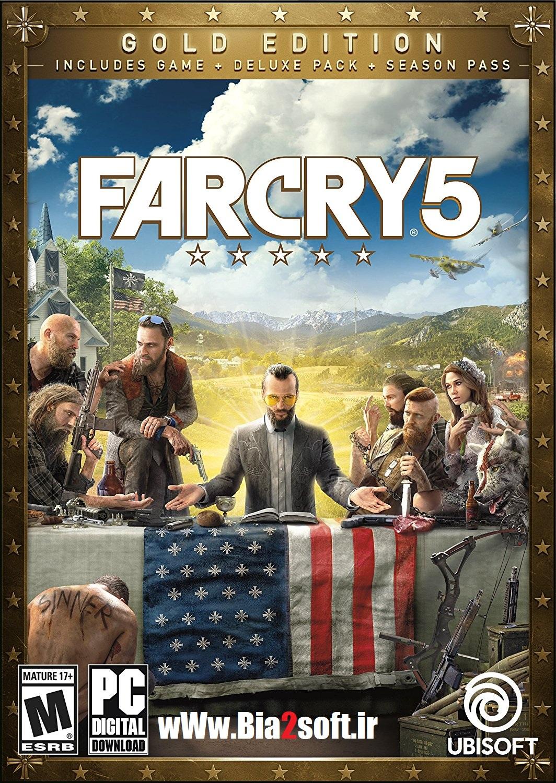 دانلود بازی فار کرای ۵ – Far Cry 5 Gold Edition برای کامپیوتر به همراه کرک CPY