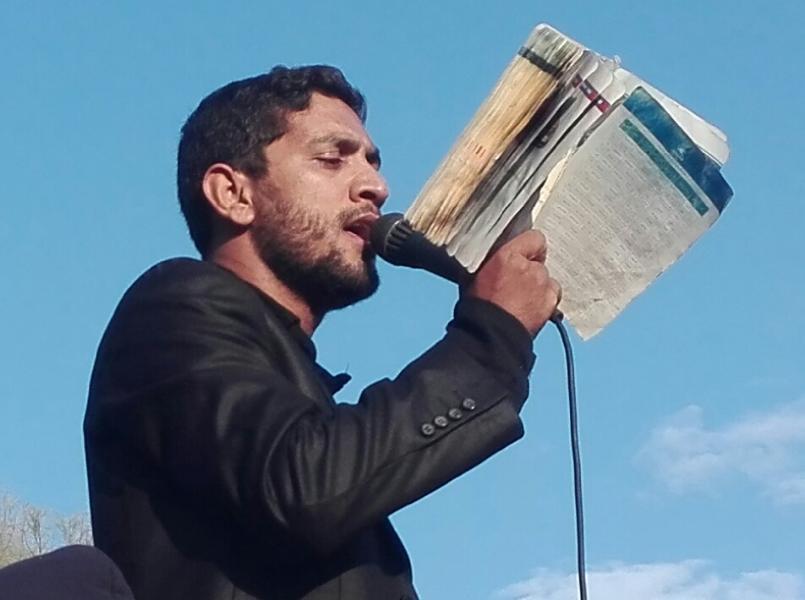 مهران بارانی استان کرمان شهرستان بم بخش بروات مراسم زنجیرزنی وسینه زنی