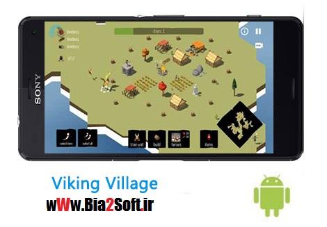 دانلود بازی استراتژیک Viking Village 7.8.8 – اندروید