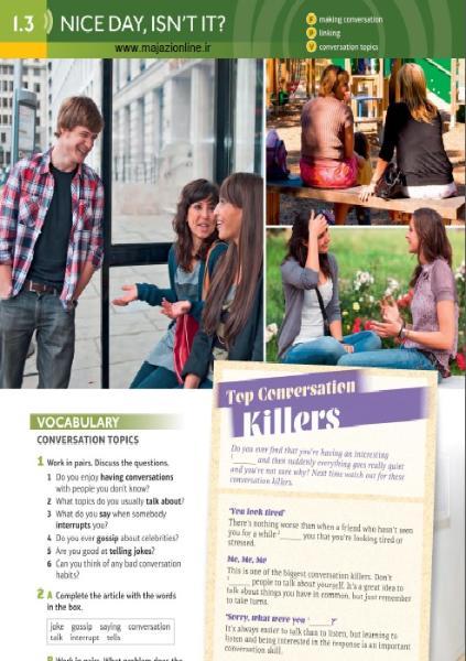 دانلود کتابهای دانش آموز اسپیک اوت ویرایش دوم Speakout Second Edition Student Book