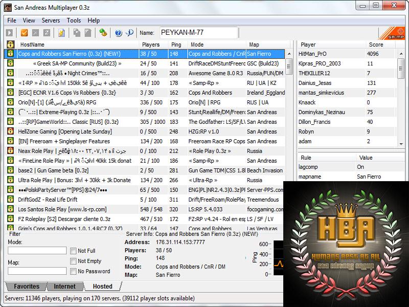 دانلود نرم افزار sa-mp برای انلاین بازی کردن جی تی ای سن آندرس