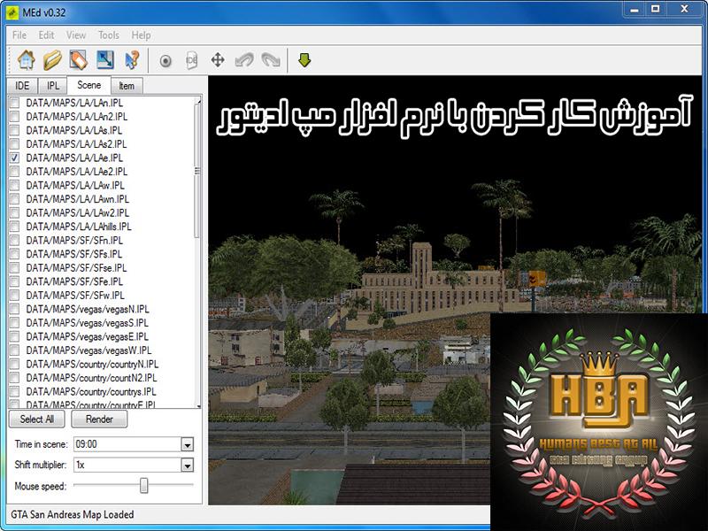 دانلود آموزش ویدیویی کار کردن با نرم افزار مپ ادیتور (map editor)