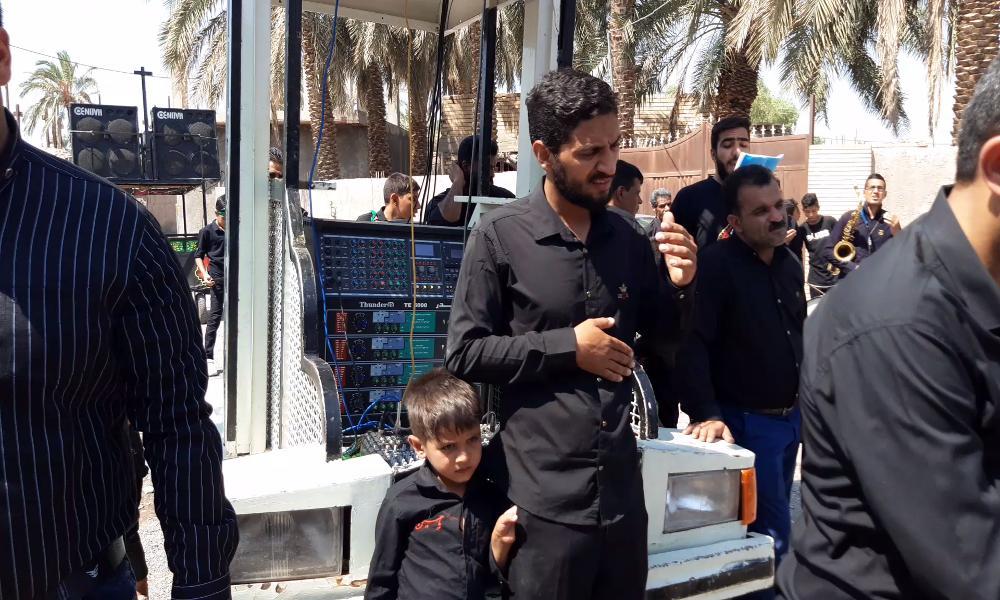 عکس از محرم سال97هیئت عزاداران حسینی بروات مرحوم محمد برقی