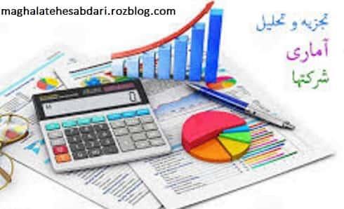 تجزیه و تحلیل آماری شرکت ها