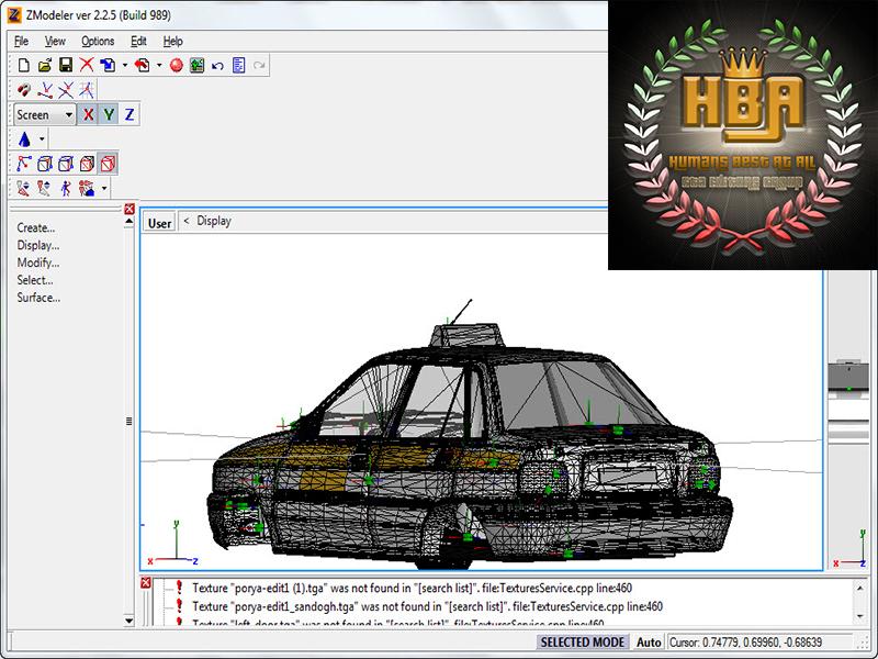 دانلود نرم افزار ZModeler 2.2.5 Build 989 برای ساخت و ادیت بازی های سری جی تی ای