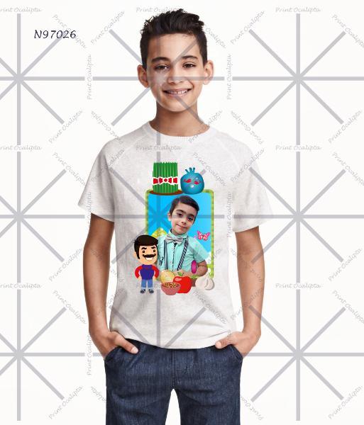 تی شرت قابل چاپ با طرح تی شرت نوروزی