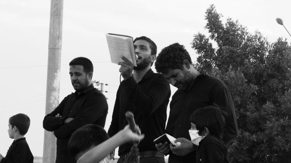 مراسم زنجیرزنی اربعین حسینی علیه السلام بروات