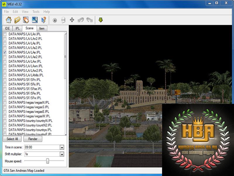 دانلود نرم افزار MAP Editor برای ویرایش مپ های جی تی ای سن آندرس