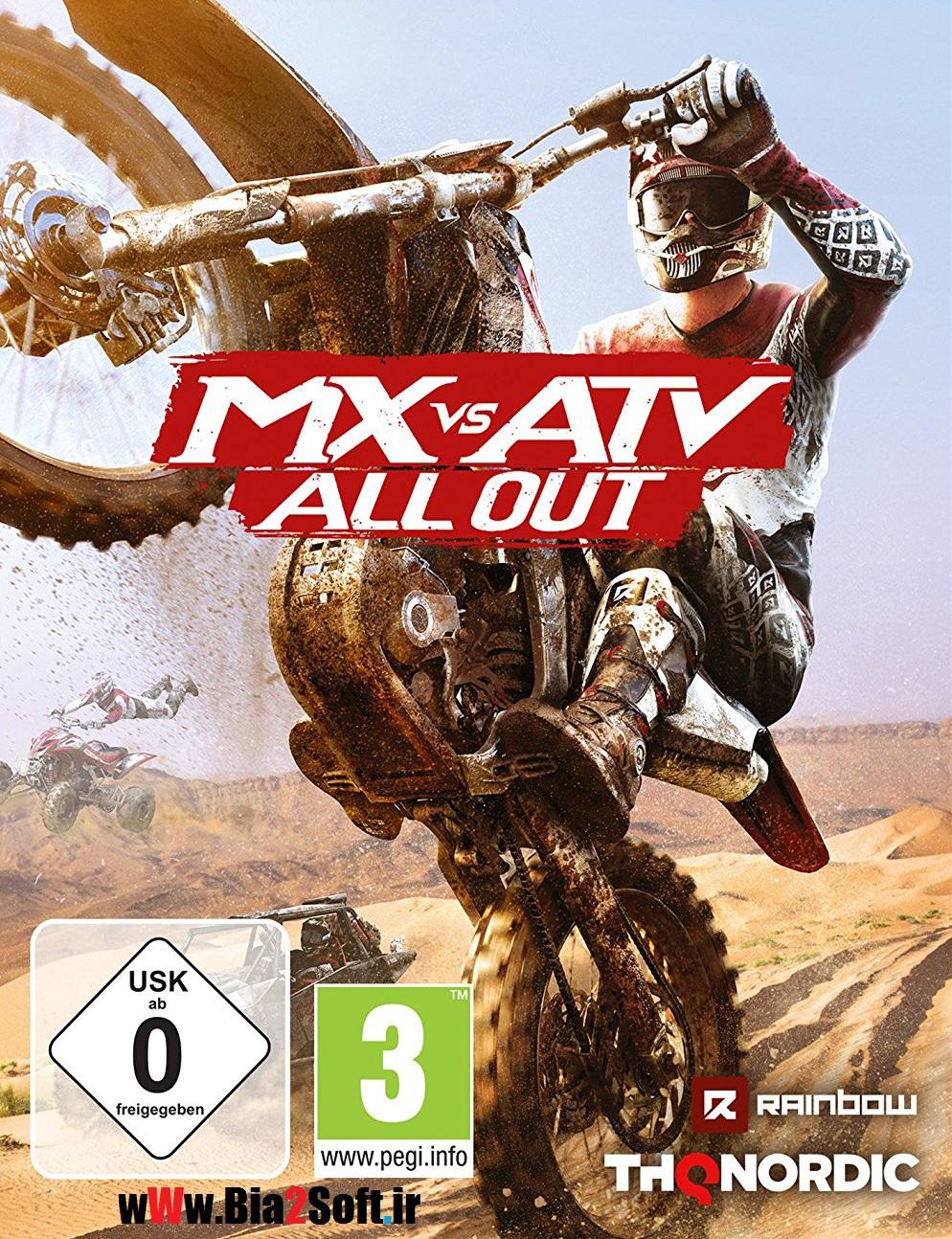 دانلود بازی MX vs ATV All Out + Update v1.05 incl DLC برای کامپیوتر