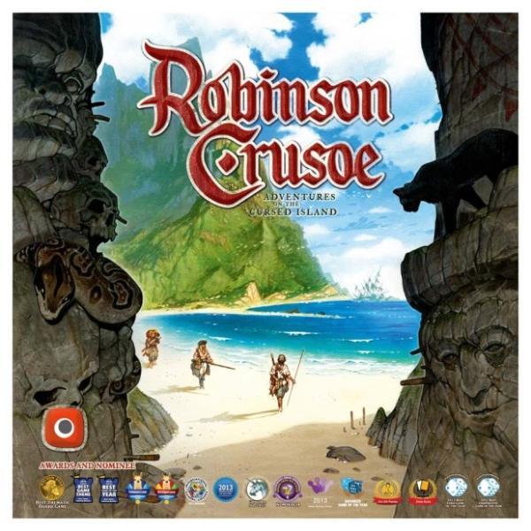 بازی رومیزی robinson crusoe