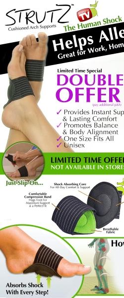 درمان پا درد  خرید درمان پادرد و صافی کف پا با استروتزstrutz