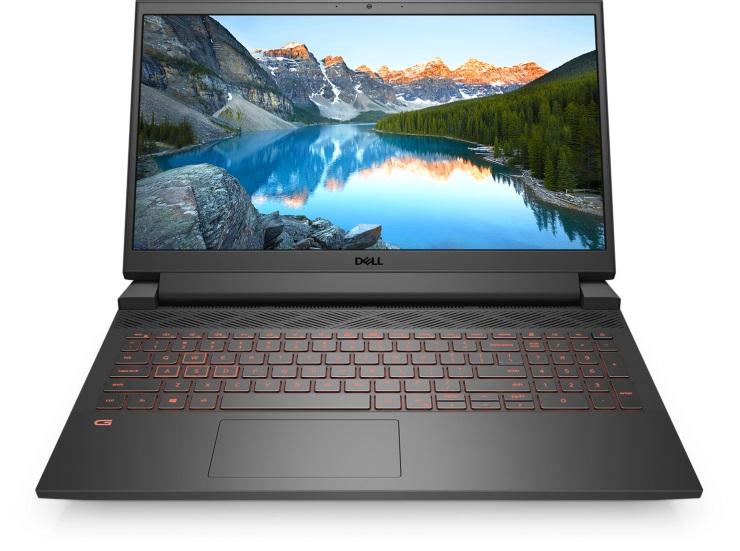 Dell G15 open front alt background 740x551 1 معرفی نسل جدید لپ تاپ های دل با پردازنده و گرافیک های سری جدید اینتل و انویدیا
