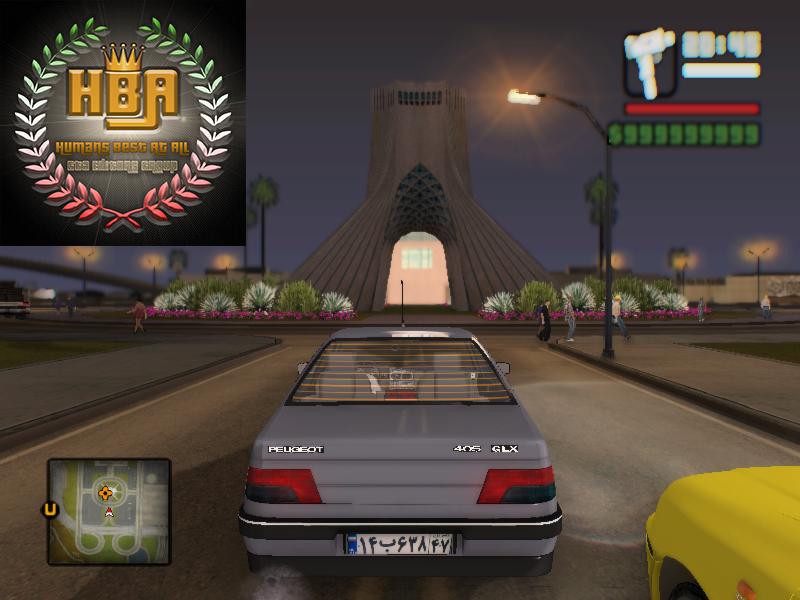 دانلود مود برج آزادی ورژن 2 برای جی تی ای سن آندرس