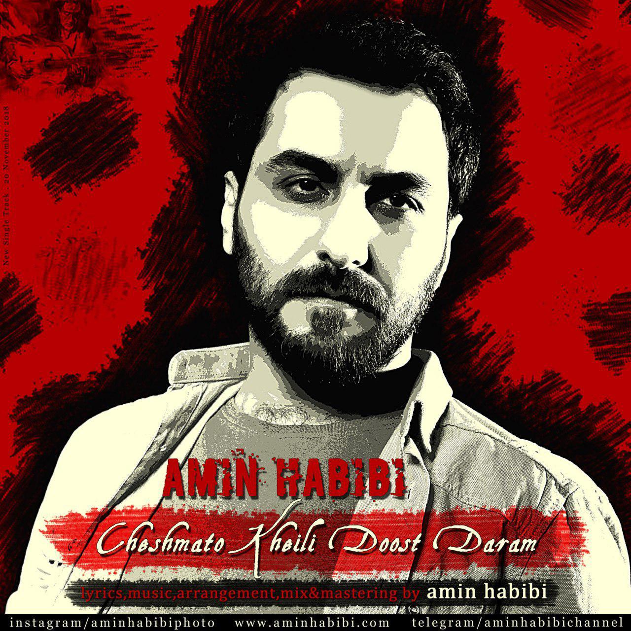 Amin Habibi - Cheshmato Kheili Doos Daram