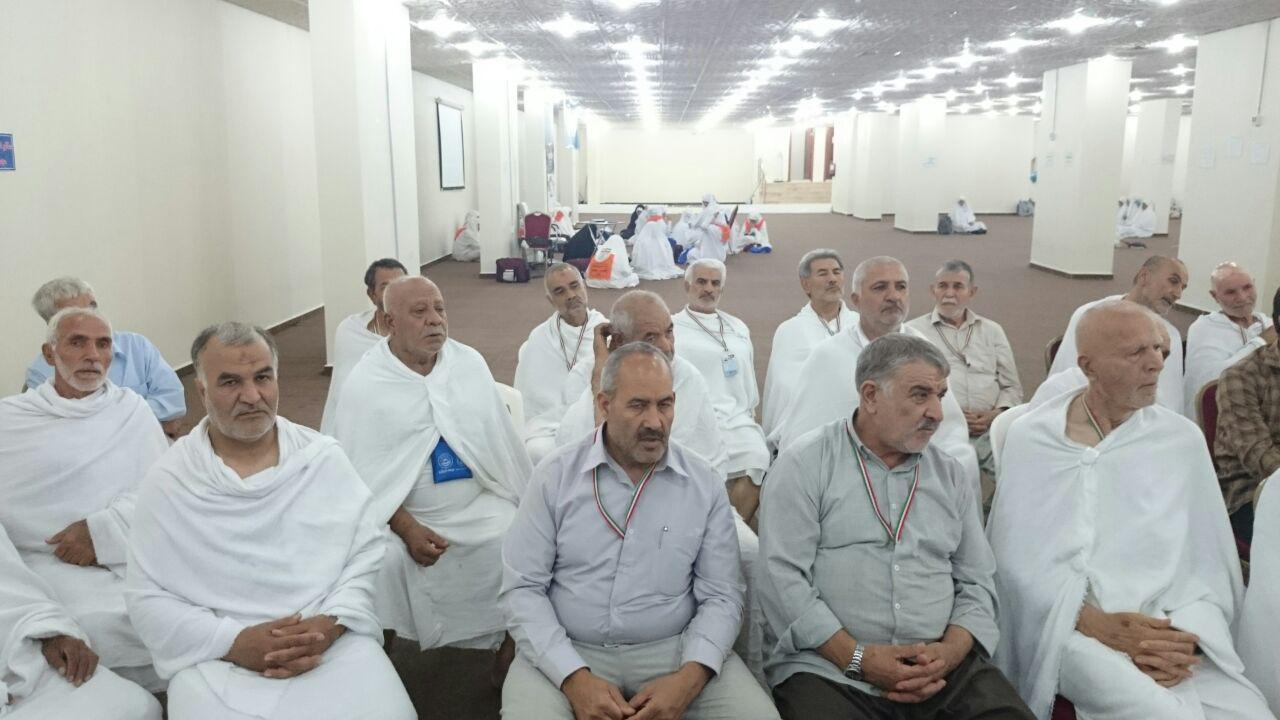جلسه توجیهی عزیمت به عرفات