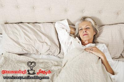 خواب پیر زن
