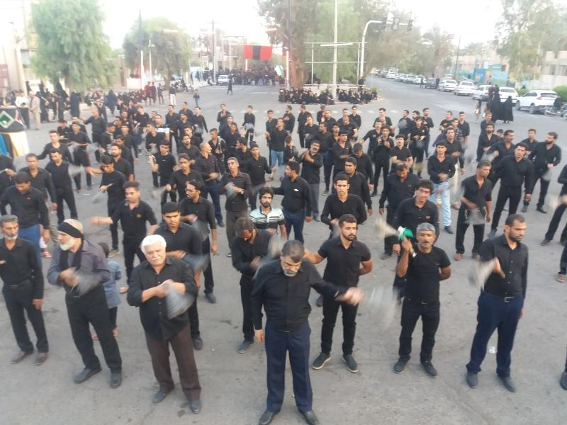 محرم۹۸ هیئت عزاداران حسینی بروات مرحوم برقی شهرستان بم استان کرمان