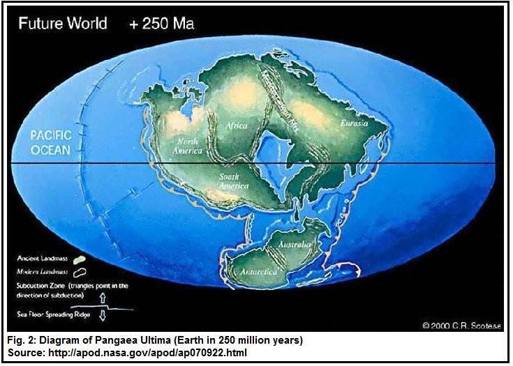 سرنوشت جغرافیای زمین در آینده!