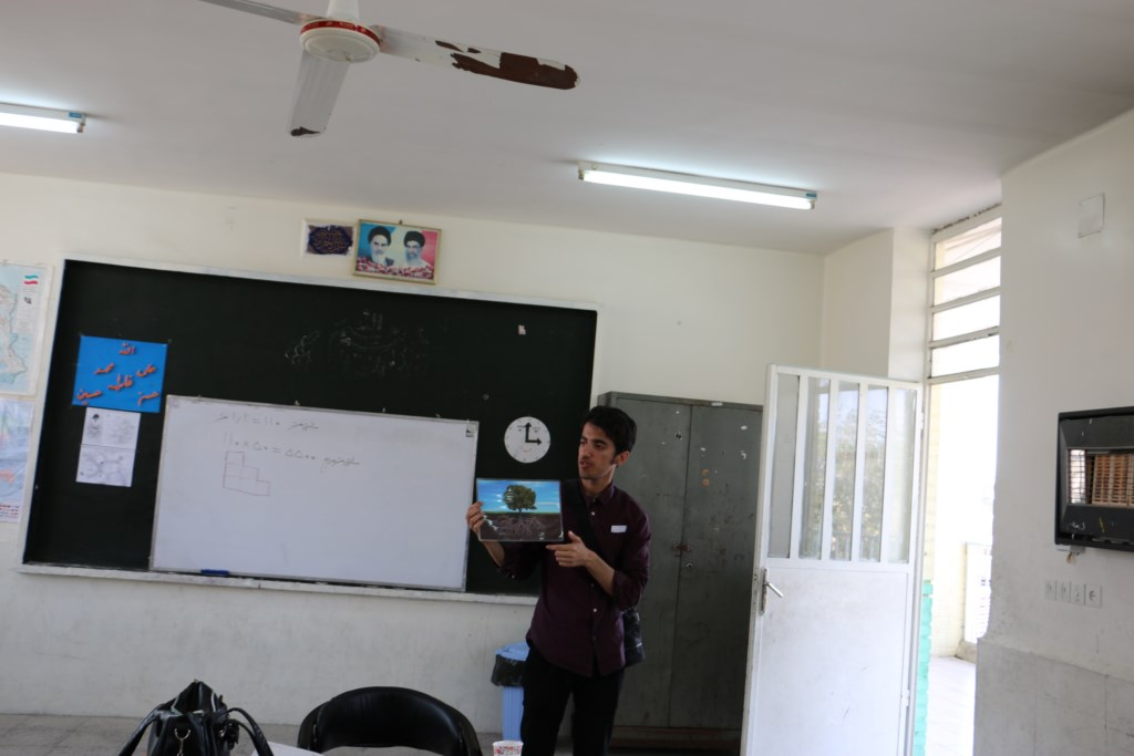 آموزش محیط زیست و منابع طبیعی در مدرسه ابتدایی پولادگر شوش