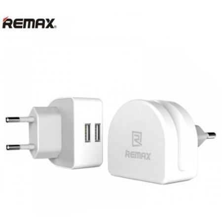 آداپتور شارژر 2 پورت Remax RMT-7188